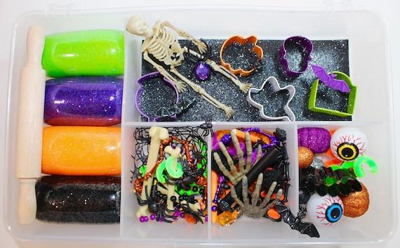 Halloween Playdough Kit Halloween Sensory Kit Halloween