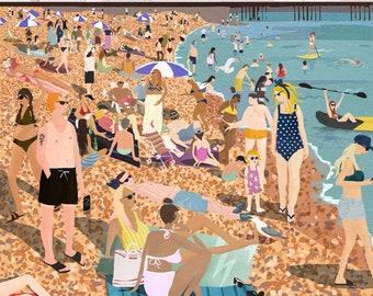 Brighton Beach (unframed)