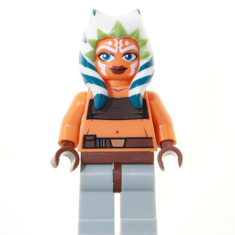 Ahsoka Tano Jedi Star Wars Minifigure Custom Lego