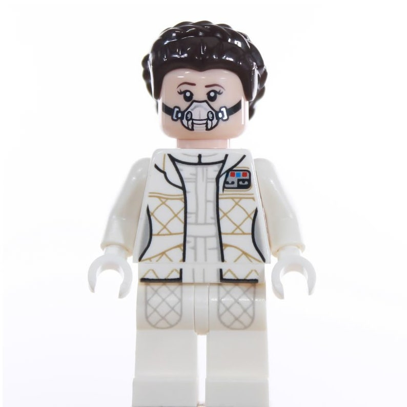 New Lego Star Wars Princess Leia from Hoth Minifigure