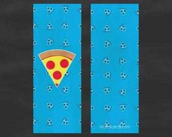 Pizza Slice Bookmark