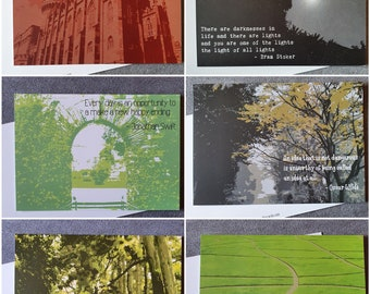 Quotes from Dublin Writers Postcards - Set of 6