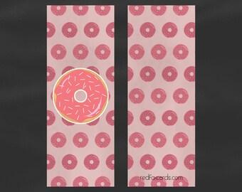 Donut with Sprinkles Bookmark