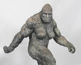 Monster Museum Exhibit #3: Bluff Creek Monster Sasquatch statue