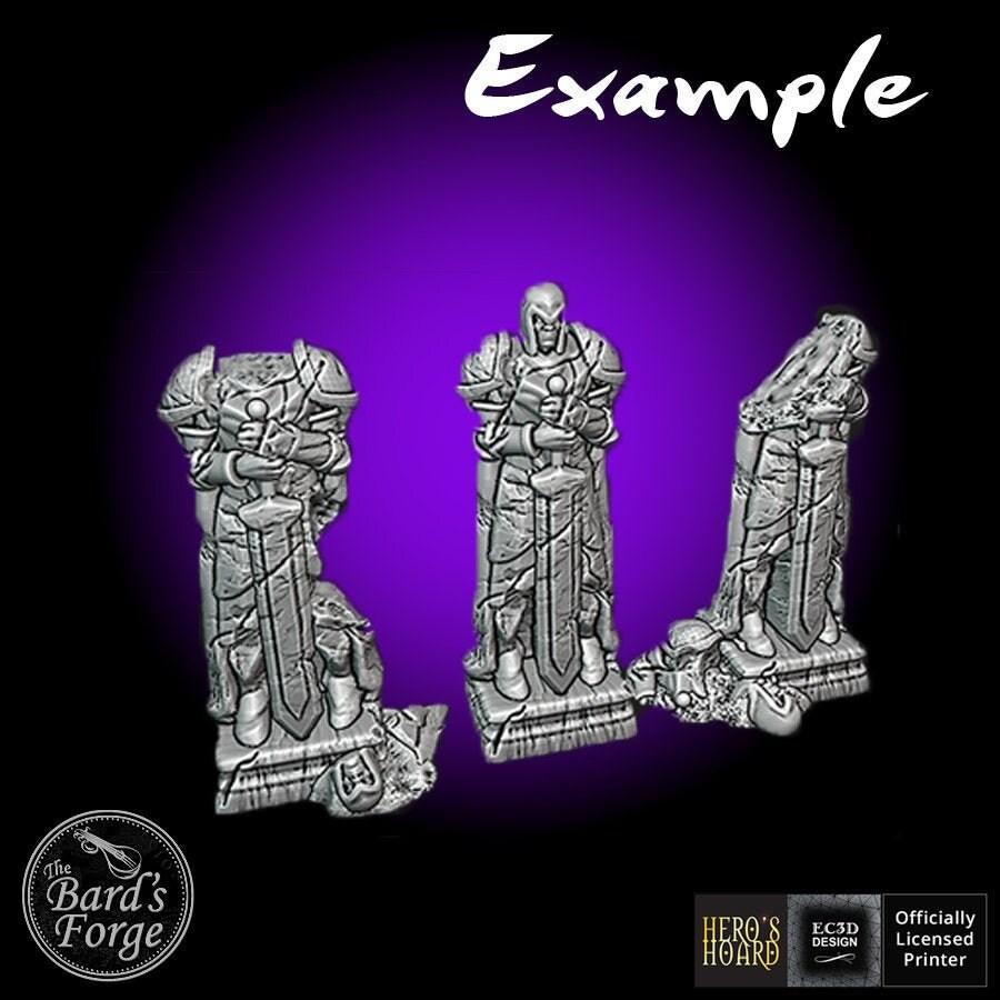 Altar Ruins 3D Printed 28-32mm Scatter Terrain Fantasy Tabletop Gaming D/&D Frostgrave Pathfinder Warhammer 40K SW Legion Wintertide