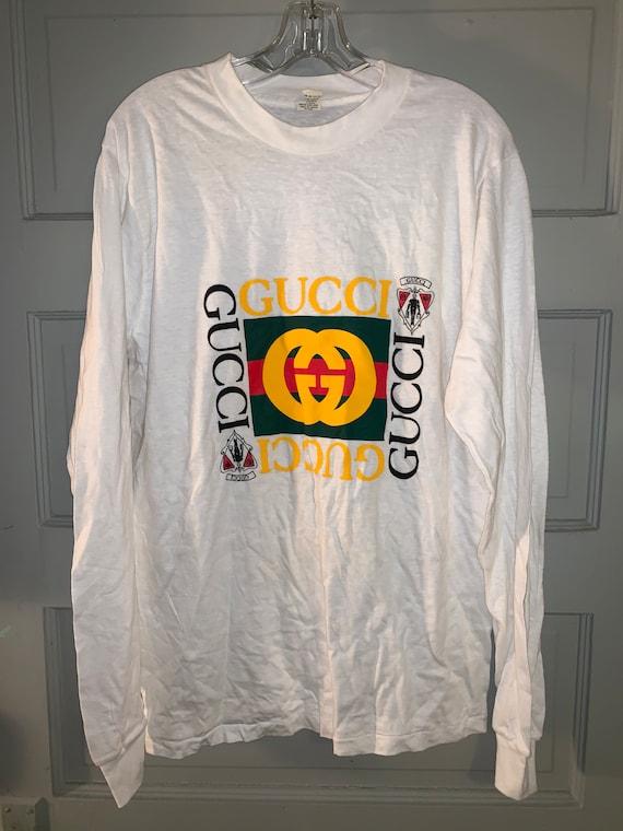 Vintage Gucci Long Sleeve T-Shirt