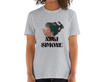 Nina Simone Tshirt. Nina Simone. Vintage Tee. Album. Four Women. Baltimore. Mississippi Goddam.