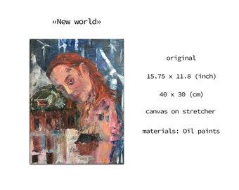 Emotional painting, Mysterious mermaid, Background artist