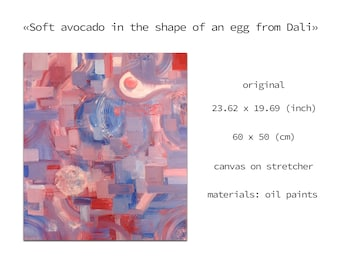 Fried eggs, Easy abstract painting, Smear art, Different shade of purple