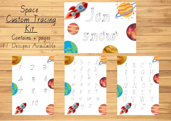 Educational resource Busy book Homeschool resources Gift for Kids Writing Practice Learn to write Activity Folder