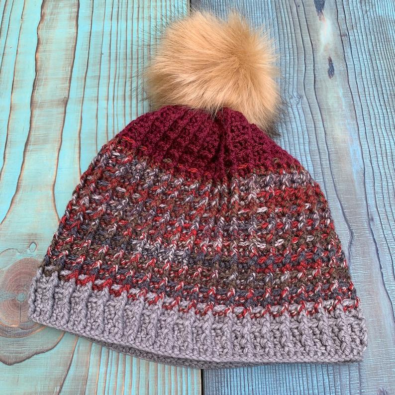 Crochet BeanieChochet HatCrochet Waffle Stitch Crochet CapKnitted HatKnitted Beanie