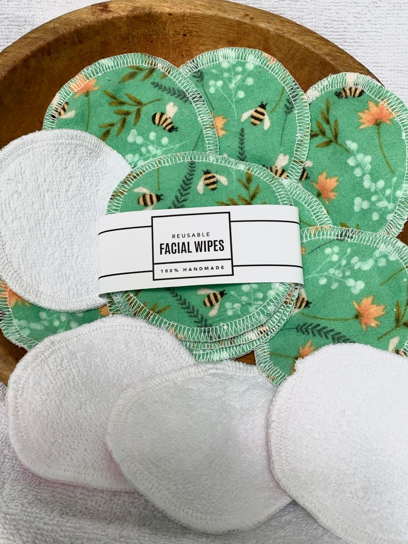 Bumblebee Reusable Cotton Rounds image 1