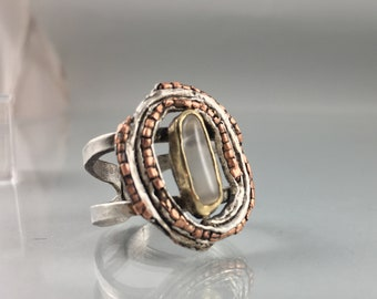 Silver Ring by Monica Putter Sterling Silver Stackable Ring