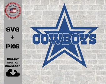 Cowboys SVG, dad gift ideas, gifts for dad, SVG, PNG, Cutting files for Cricut and silhouette