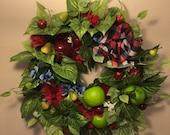 Apple Orchard Silk Wreath
