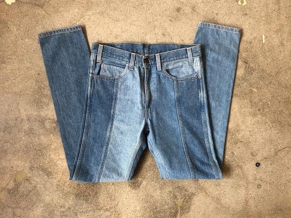 RARE Deadstock Vintage Levi Frankenstein Jeans 31W