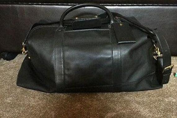 Coach Duffel Bag Leather