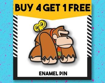 Superhero Gorilla Enamel Pin Monkey Chimp Enamel Pins Backpack Pins Lapel Pin Pins Pin Badge Pin Aesthetic Pins