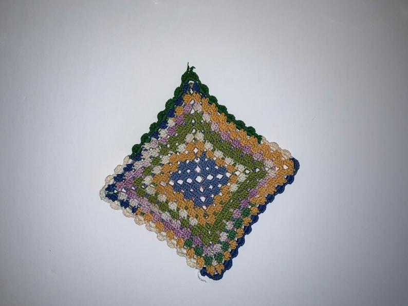 Beautiful Hand Crocheted Pot Holder