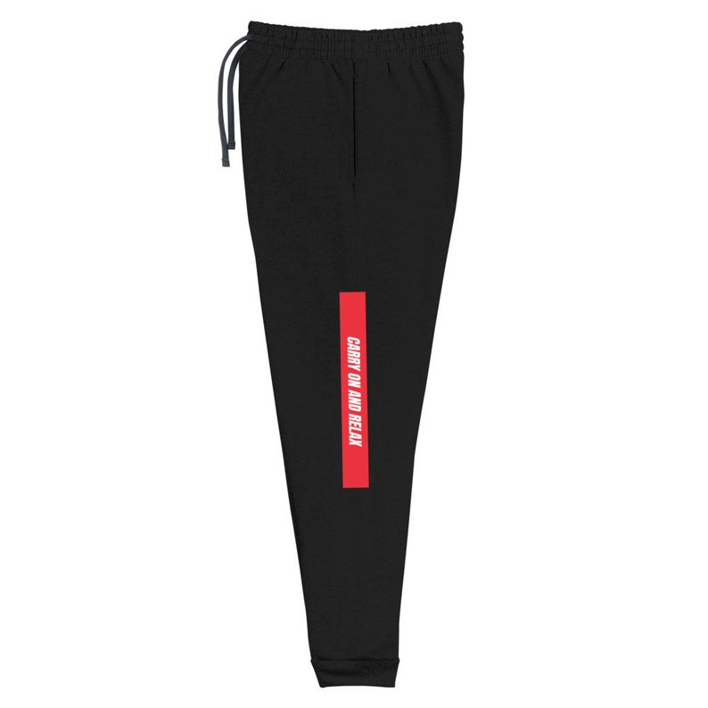 Carry on and Relax Lounge Unisex Joggers Sweatpants
