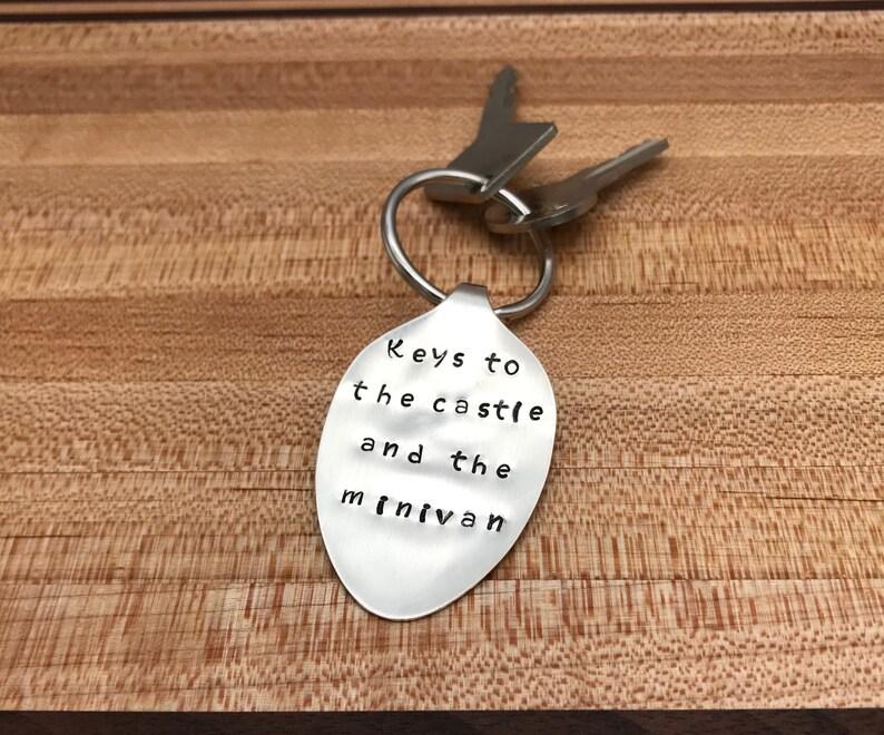 Unique Gift Custom Keychain Keychain Stamped Keychain