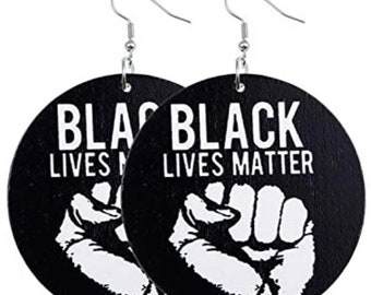 Civil Rights Gifts for Her Women/'s Rights | Black Lives MatterBlack Pride Earrings Pride Earrings
