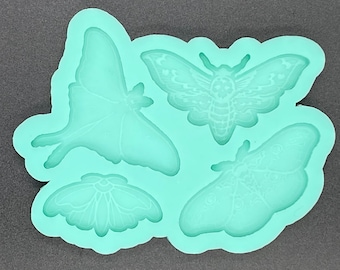 Moth Palette Silicone Mold