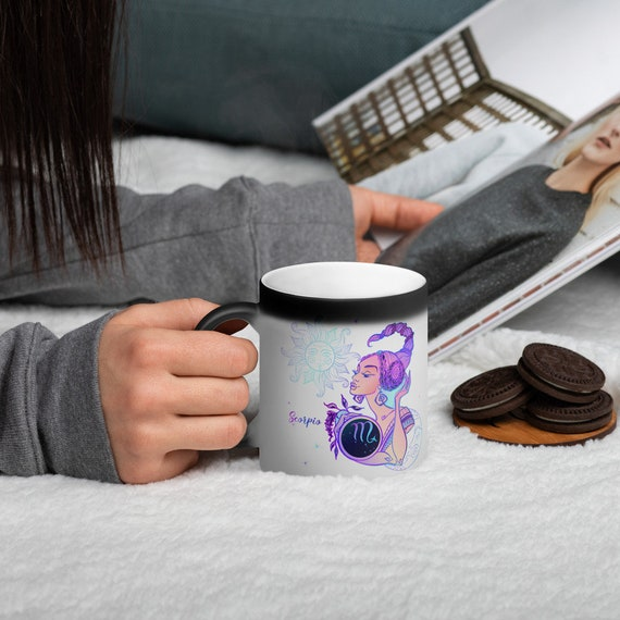 Details about  /SCORPIO Color Changing Coffee Mug
