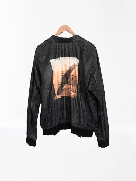 Vintage 1990 Led Zeppelin Tyvek Jacket