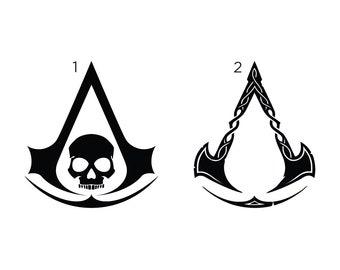 Assassin Creed Logo Etsy