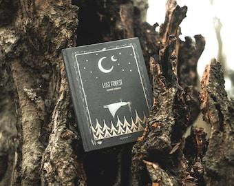 """Picturebook """"Lost forest"""" by Alexandra Dvornikova"""