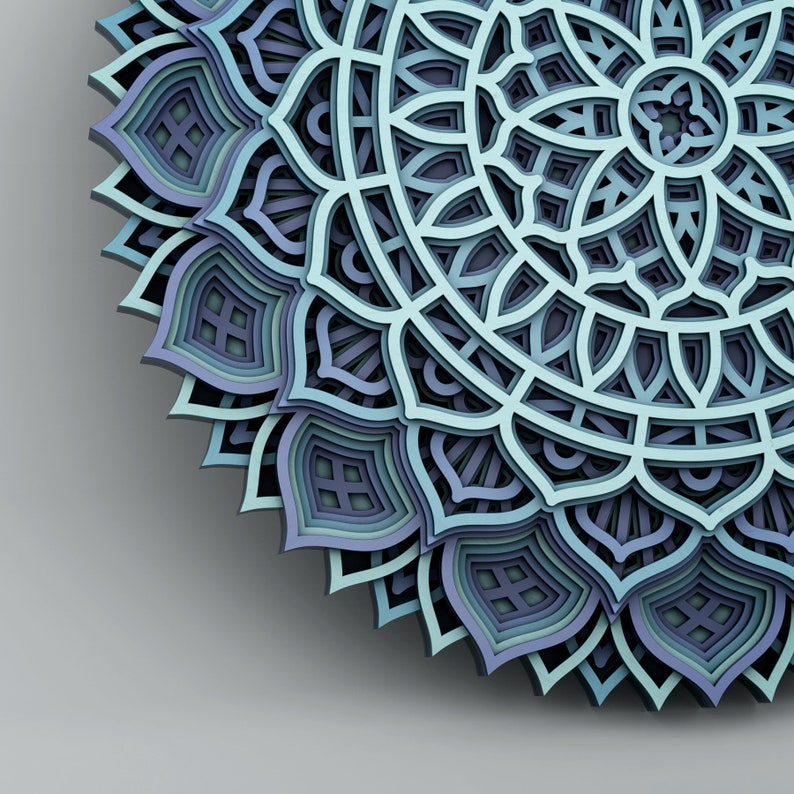 86+ Free 3D Mandala Svg Files For Cricut – SVG,PNG,DXF,EPS include
