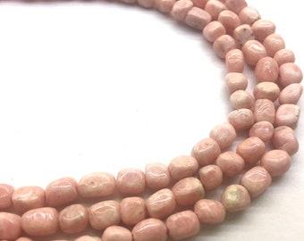 Quality Rhodonite Tube Slab Smooth Beads Approx 5x5x7mm 16 inch
