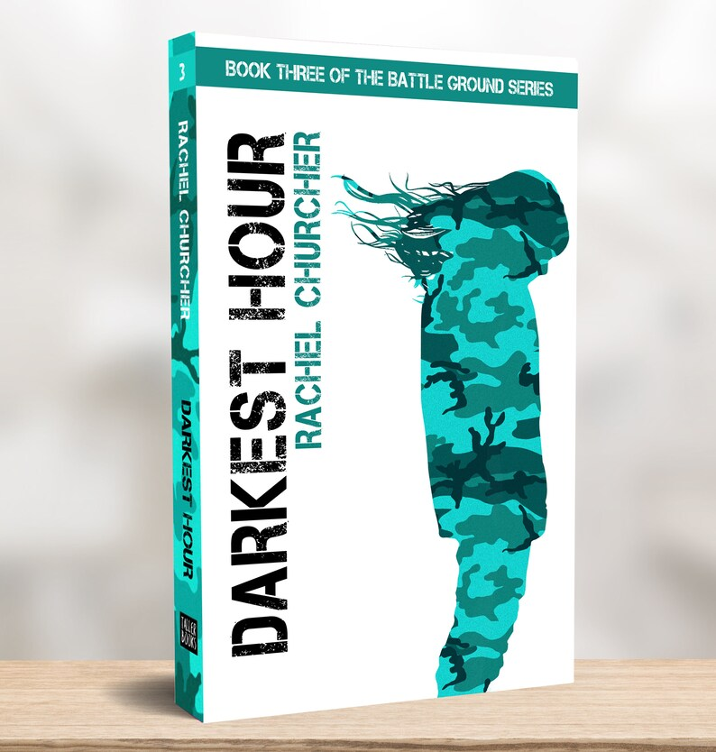 Signed Paperback: 'Darkest Hour' Book Three of the image 0