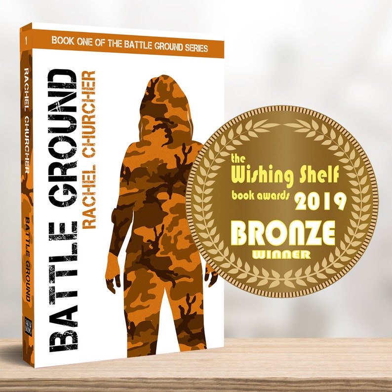 Signed Paperback: 'Battle Ground' Book One of the image 0