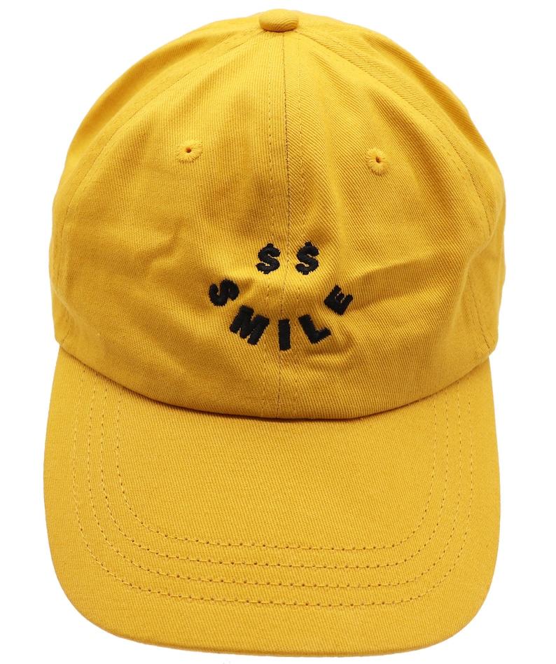 Men or Women Adult Baseball Cap Dad Hat Cash Smiley Face