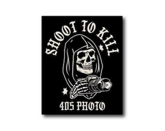 405 Photo - Shoot To Kill Sticker V3