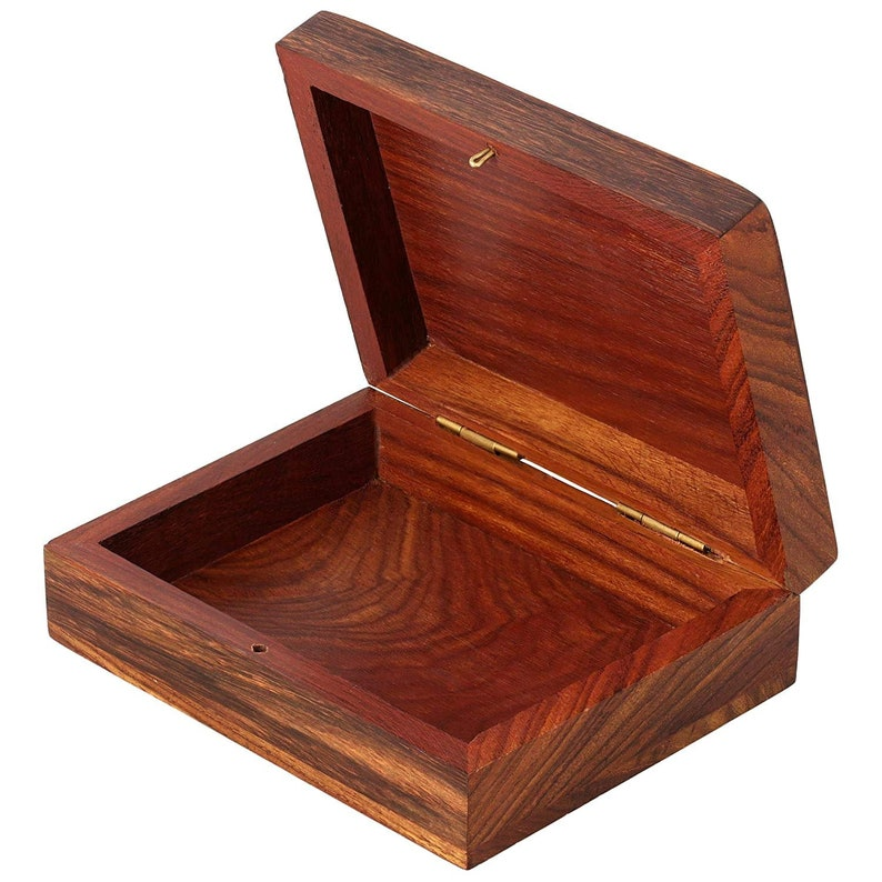 Sarathi Crafts Handmade Wooden Jewellery Box for Women Jewel Organizer Elephant design Gift Items best gift Made In India