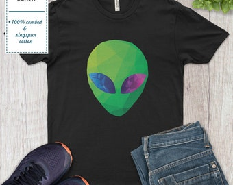 Alien Head Pocket Mens T Shirt Swag Cool Hipster Blogger Tumblr Fashion Gift