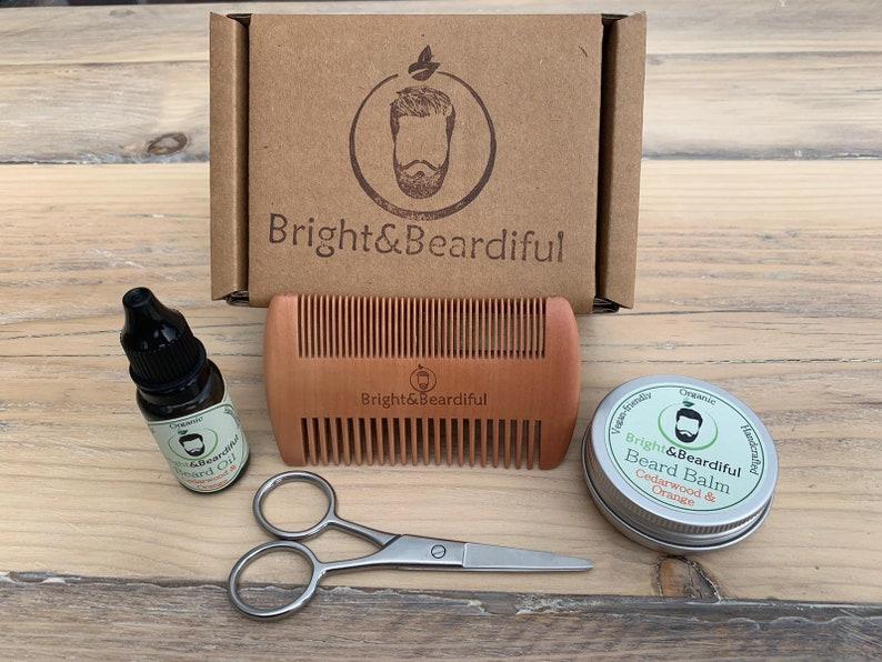 Conjunto de regalo de barba / kit de cuidado de la barba / image 0