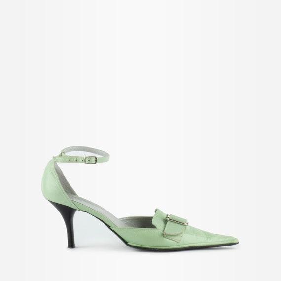 90s Heels, Y2K heels, Kitten Heels, Vintage Mary J