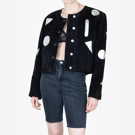 80s Suede Jacket, Vintage Suede Jacket, 80s Statem