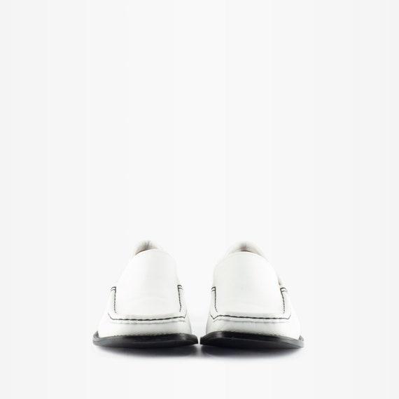 90s Loafers, Vintage Loafers, Vintage Leather Loa… - image 3