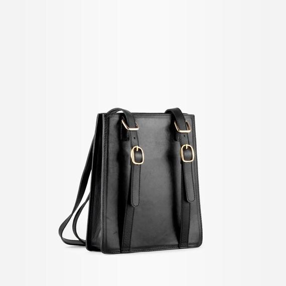 90s Shoulder Bag, Leather Shoulder Bag, Leather To
