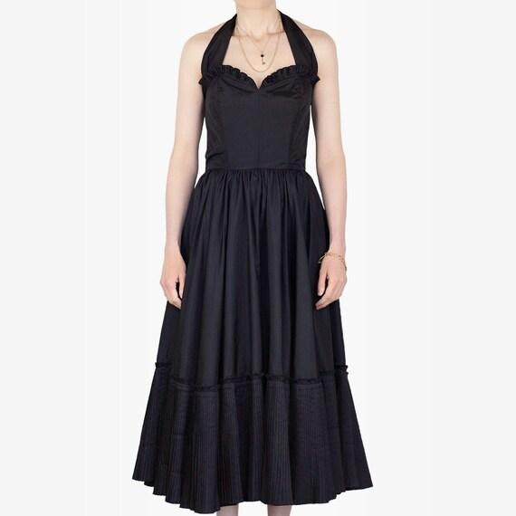 Vintage Prairie Dress, Ruffle Dress, Vintage Ruffl
