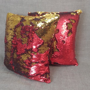 Pair of vintage inspired charcoal velvet pillow covers with pinapple sequin applique