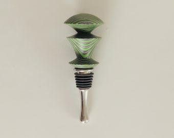 Wine stopper - Green Hornet