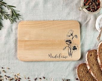 Personal Breakfast Board BOOKS RAUPE \u00bb BreadBoard Board Breakfast Gift Kids School Beginner School Nursery