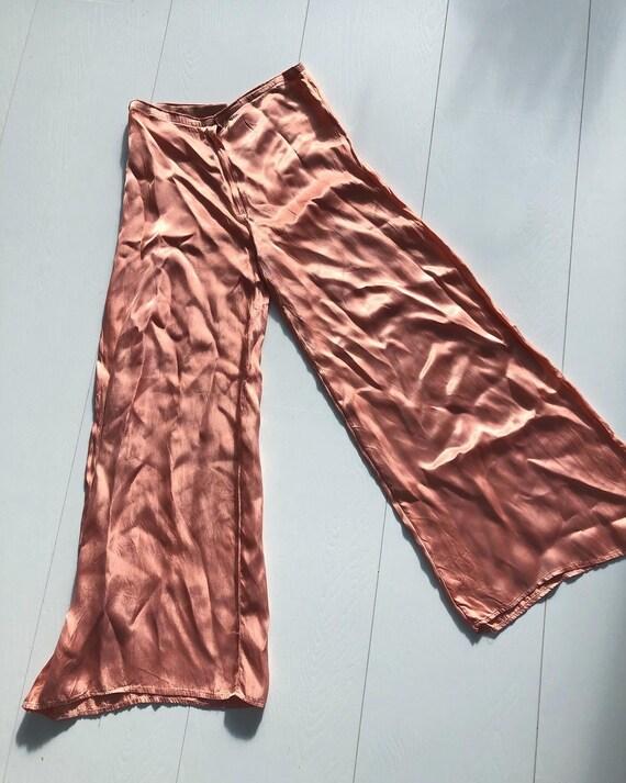 1930s salmon pink pants
