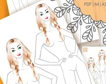 How To Draw Fashion Etsy